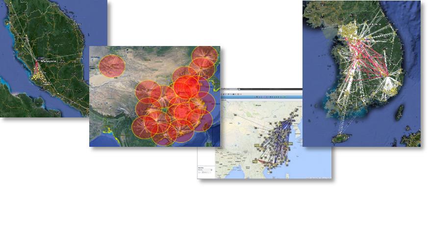 模拟工具基于ALLO的物流网络分析