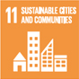 11. Making cities and human settlements inclusive, safe, resilient and sustainable
