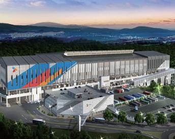 Asia's largest mega hub terminal